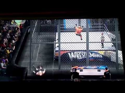 WWE 13 Goldberg vs. Undertaker Hell In A Cell Travel Video