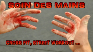 SOIN DES MAINS pour CROSS FIT, STREET WORKOUT