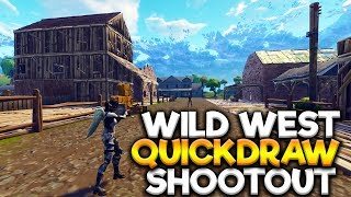 A FORTNITE WILDWEST QUICKDRAW SHOOTOUT (SHORT FILM)