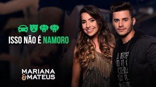 Mariana e Mateus - Isso não é namoro | Pocket Show