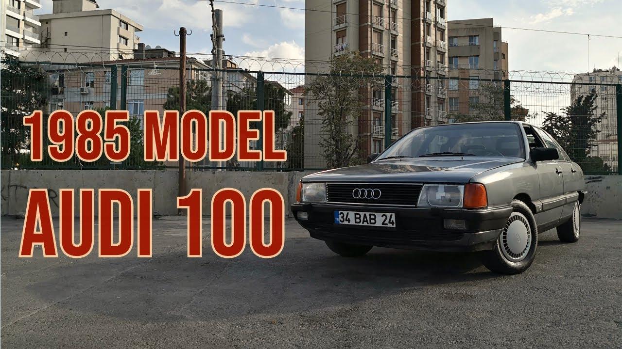 1985 Audi 100 1.8 CD Otomatik | Premium Klasik - YouTube