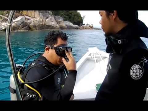 Scuba Diving Course at Sea Voice Divers Perhentian Island