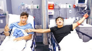Ethan and Grayson AFTER SURGERY