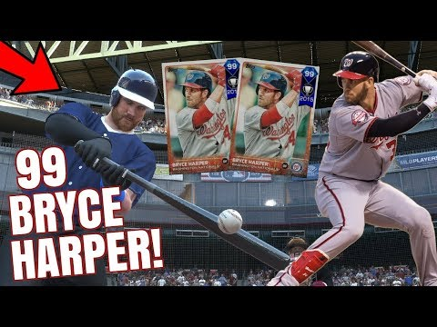 HE HAS 99 BRYCE HARPER!? EASY W! MLB THE SHOW 17 BATTLE ROYALE