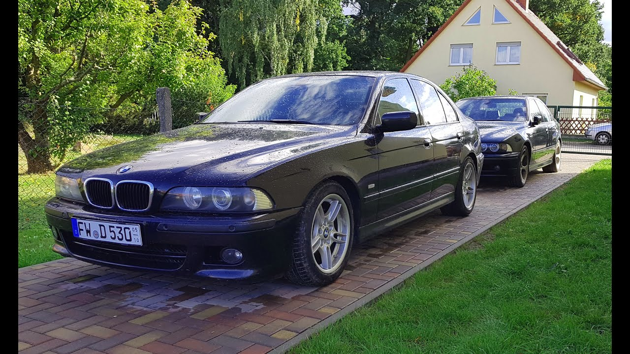 BMW e39 5er 530d und 540i - neue Individual Teile