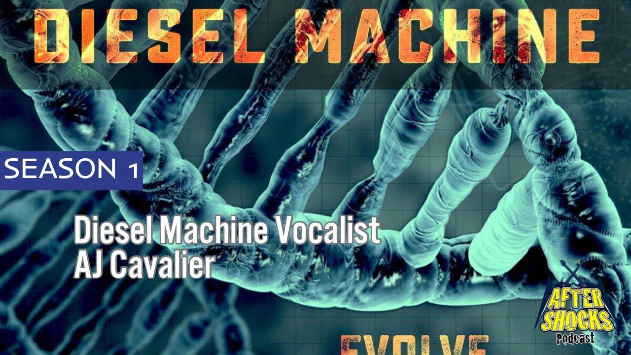 Coming Back After A Decade Hiatus - Diesel Machine Vocalist AJ Cavalier