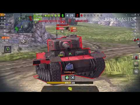 a compilation of a tier 7 soviet heavy tank in wotb
