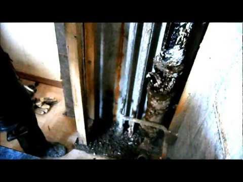 видео: Замена участка стояка на полипропилен
