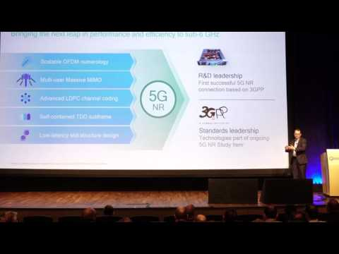 Qualcomm VP of Engineering John Smee discusses making 5G NR a Reality