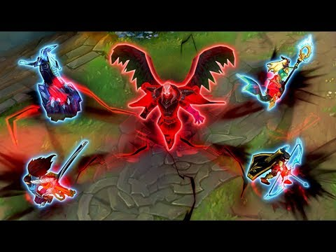 THE POWER OF NEW SWAIN - Unleashing BROKEN Damage - League of Legends