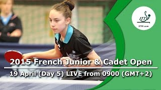 2015 French Junior & Cadet Open – Day 5 LIVE