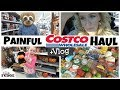 Mom's Unexpected INJURY Vlog || Family Grocery HAUL & Shop with Me