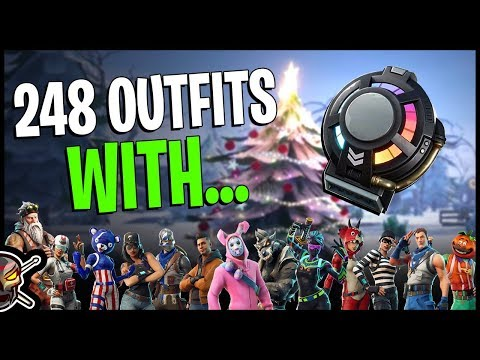 New *SIGNAL HUB* Back Bling On 248 Outfits! - WAYPOINT Outfit - Fortnite Season 7 Cosmetics