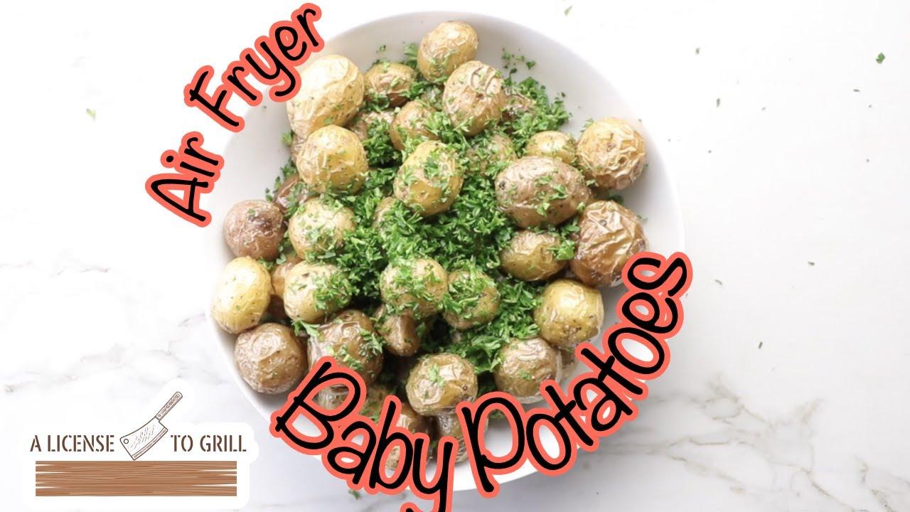 Air Fryer Parsley Baby Potatoes - YouTube