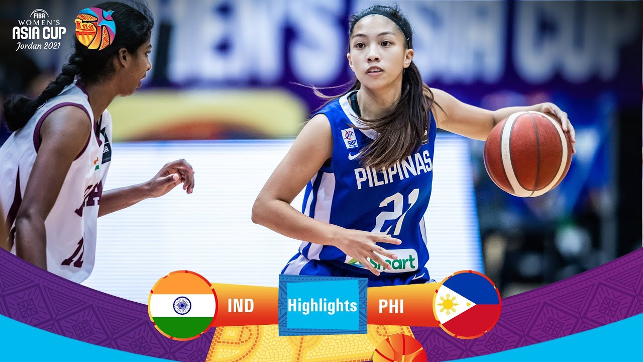India - Philippines   Highlights - FIBA Women's Asia Cup 2021