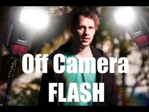 Self Portrait With Yongnuo YN-560 Off Camera Flash