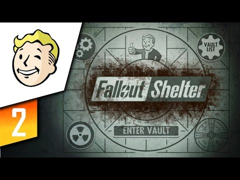 Fallout Shelter | Let's Play | Episode: 2 Rearranging!