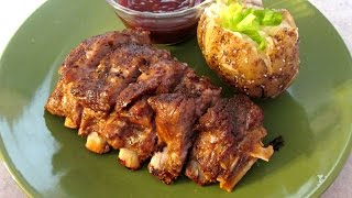 Oven Baked Ribs - Fall Off The Bone Tender Baby Back Ribs - Poormansgourmet