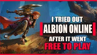So I tried ALBION ONLINE After It Went Free to Play. Here Are My Thoughts!