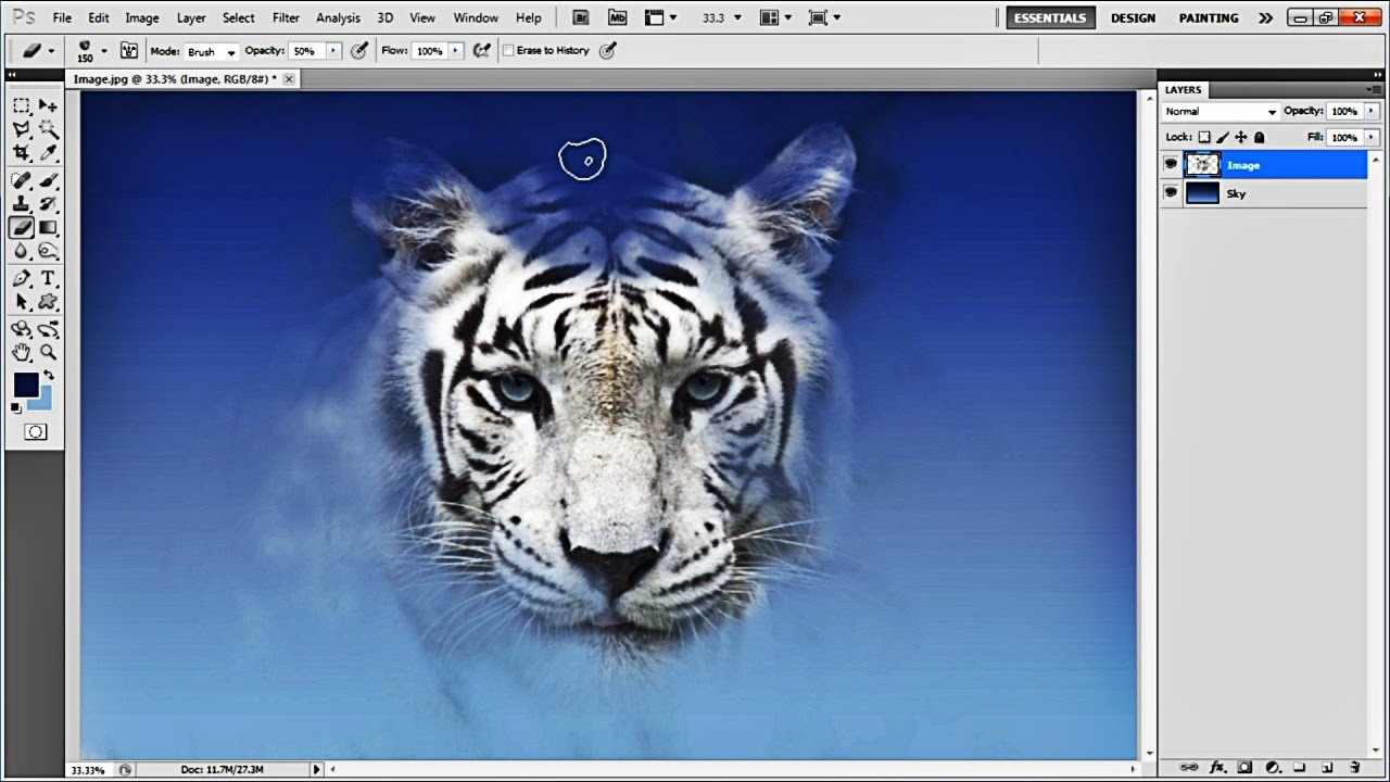 how to create a photoshop image