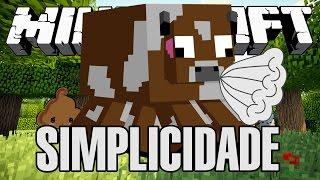A VACA TOSSIU! - SIMPLICIDADE! - Minecraft #3