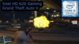 intel hd 620 gaming grand theft auto v i3 7100u i5 7200u i7 7500u kaby lake