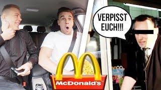 McDonalds PRANK | MITARBEITER BELEIDIGT UNS | FLEX IT