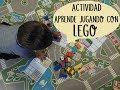 Actividad para aprender jugando con piezas Lego