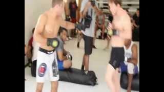 Hacran Dias e o treino de boas vindas ao UFC