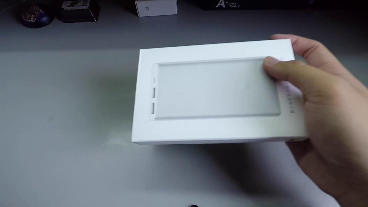 新小米行動電源2 開箱 - YouTube