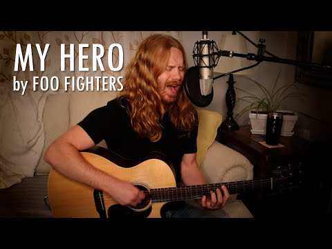 """My Hero"" by Foo Fighters - Adam Pearce (Acoustic Cover)"