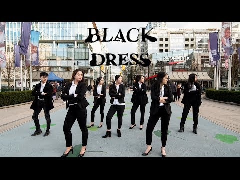 "[KPOP IN PUBLIC VANCOUVER] CLC (씨엘씨): ""BLACK DRESS"" Dance Cover[K-CITY]"