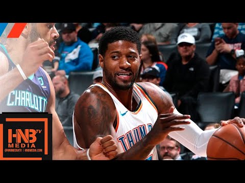 Oklahoma City Thunder vs Charlotte Hornets Full Game Highlights | 11.23.2018, NBA Season