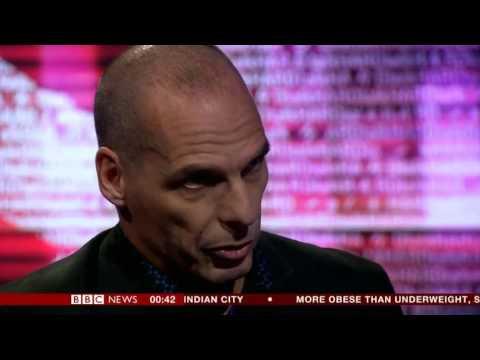 BBC HARDtalK Greek Finance Minister Yannis Varoufakis