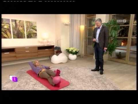 gymnastik mit dem overball doovi. Black Bedroom Furniture Sets. Home Design Ideas