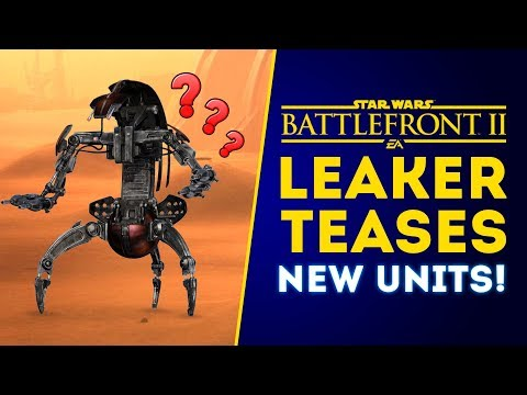 Leaker Teases New Units & Reinforcements Coming to New Titan Mode! - Star Wars Battlefront 2 thumbnail