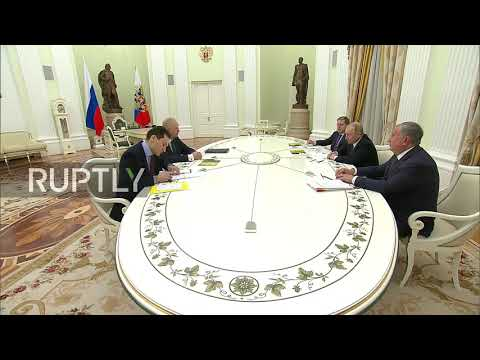 Russia: BP CEO meets Putin to discuss Rosneft's 'remarkable results'