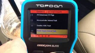 topdon elite product review airbag abs engine transmission codes