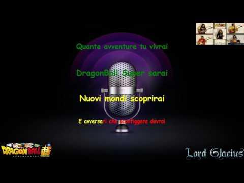 Dragon Ball Super sigla karaoke con testo ITALIANO base originale HQ