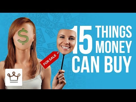15 Things Money CAN Buy