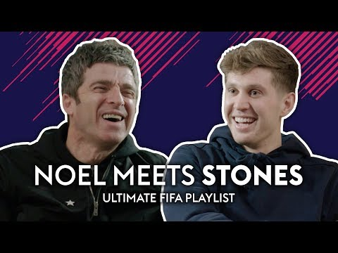 Pep loves Justin Bieber?! | Noel Gallagher meets John Stones | Ultimate FIFA Playlist