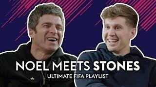 Pep loves Justin Bieber?! | Noel Gallagher meets John Stones | Ultimate FIFA Playlist