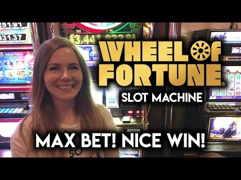 5 wheel of fortune slot machine payout
