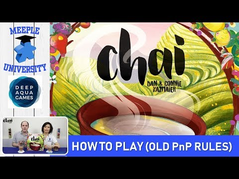 Chai Board Game (Old Rules) – How to Play & Setup - Print and Play version.