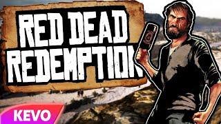 Red Dead Redemption but I am a horrible cowboy