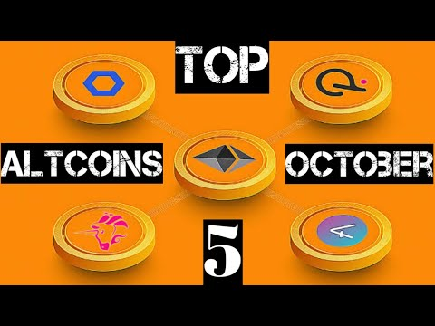 Top 5 Altcoins For October   Crypto Future   Cryptocurrency News Today