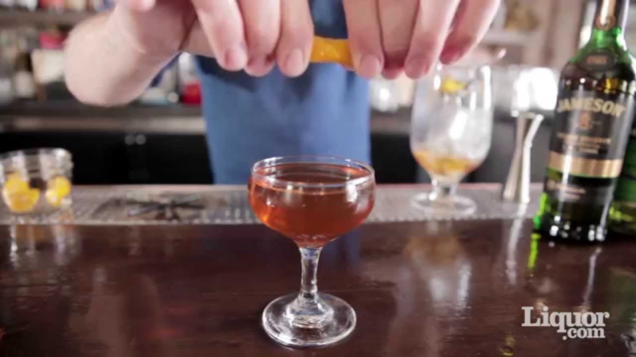 How to Make the Tipperary Cocktail - Liquor.com - YouTube