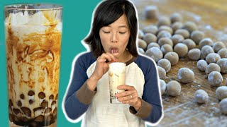 How to Make Homemade Boba (Tapioca Pearls) - DIY Brown Sugar Boba Recipe