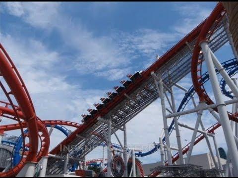 Top 10 Roller Coasters - Malaysia VS Singapore