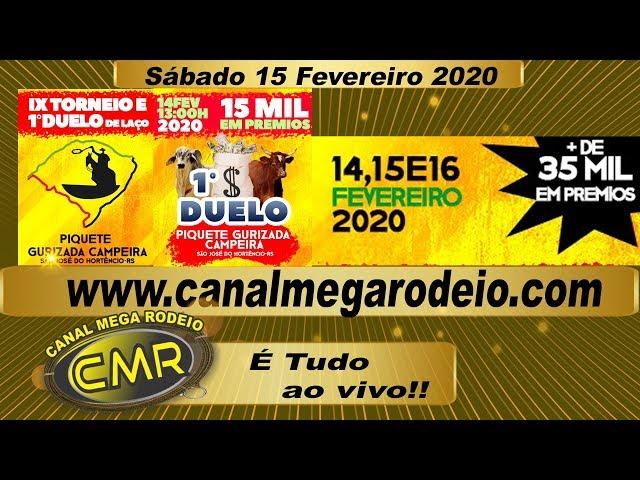 IX Torneio e 1º Duelo De Laço 15  de fevereiro de 2020 - São Jose do Hortencio-RS